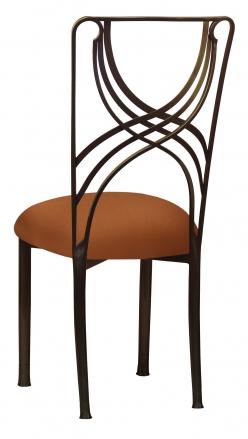 Bronze La Corde with Copper Stretch Knit Cushion (1)