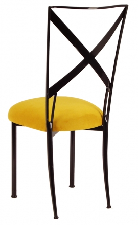 Blak. with Canary Suede Cushion (1)