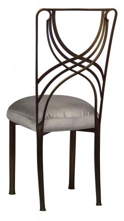 Bronze La Corde with Charcoal Taffeta Boxed Cushion (1)