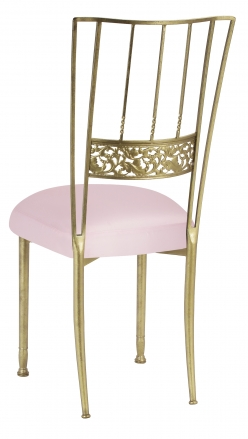 Gold Bella Fleur with Soft Pink Satin Boxed Cushion (1)