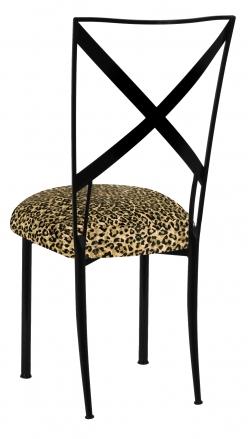 Blak. with Leopard Boxed Cushion (1)