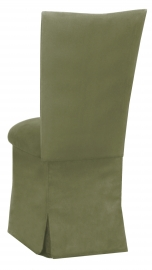 Sage Suede Chair Cover and Cushion and Skirt
