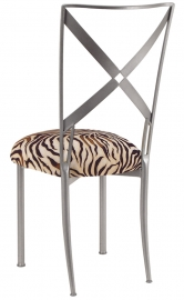 Simply X with Zebra Stretch Knit Cushion