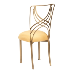 Gold La Corde with Gold Stretch Knit Cushion