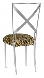 Silve Simply X with Leopard Boxed Cushion