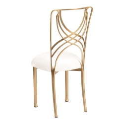 Gold La Corde with Ivory Stretch Knit Cushion