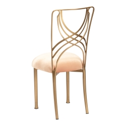 Gold La Corde with Gold Velvet Cushion