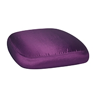 Chairs with Purple Taffeta Cushions