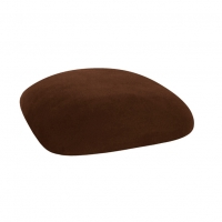 Barstools with Chocolate Suede Cushions
