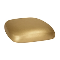 Chairs with Gold Leatherette Cushions
