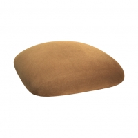 Barstools with Camel Suede Cushions