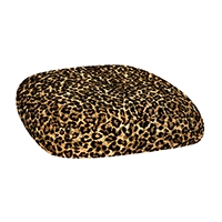 Chairs with Leopard Cushions